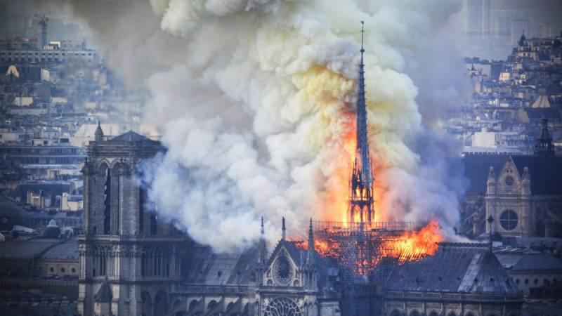 Hindu hardliners claim Notre Dame was an ancient Hindu temple; celebrate Cathedral blaze as 'karma'
