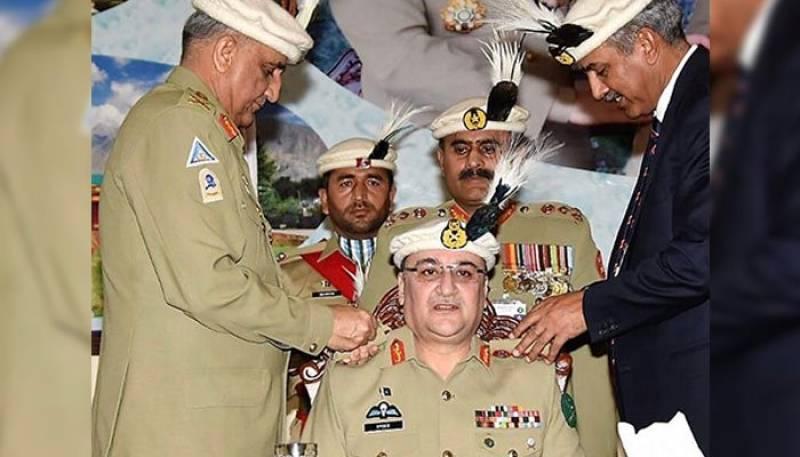 COAS Gen Bajwa installs Lt-Gen Anwar Ali Hyder as Colonel Commandant NLI Regiment