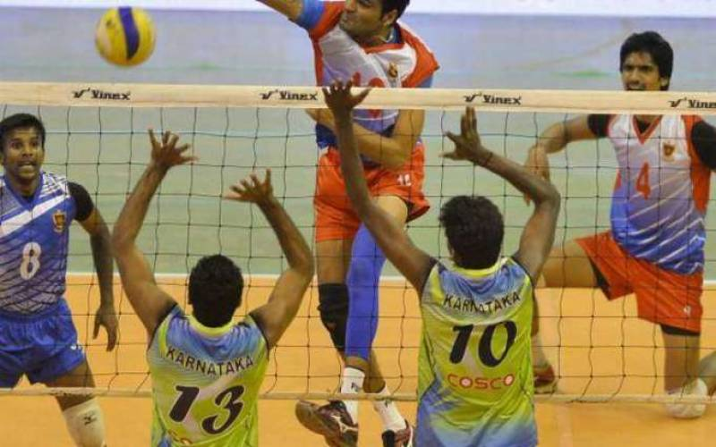 National volleyball championship: four matches decided in QF league