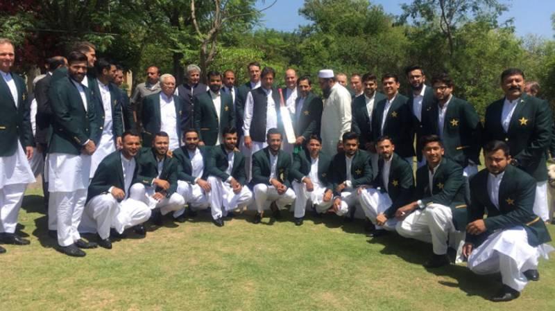 Pakistan's World Cup 2019 squad call on PM Imran Khan