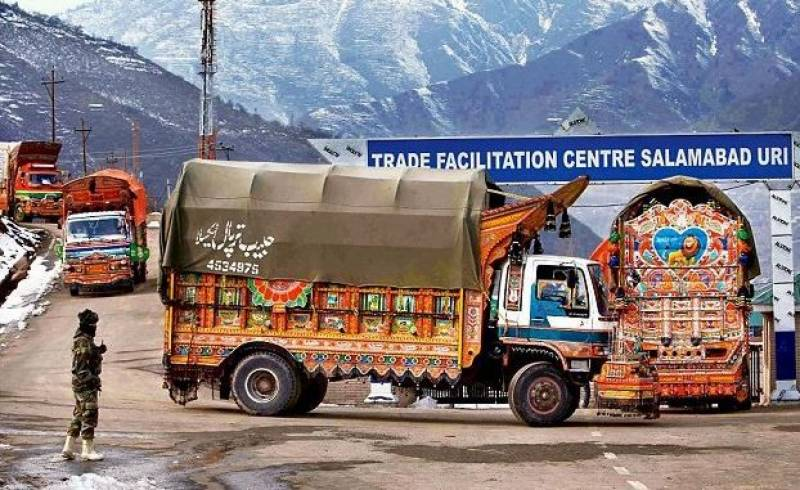 Pakistan deplores India's unilateral suspension of cross-LoC trade
