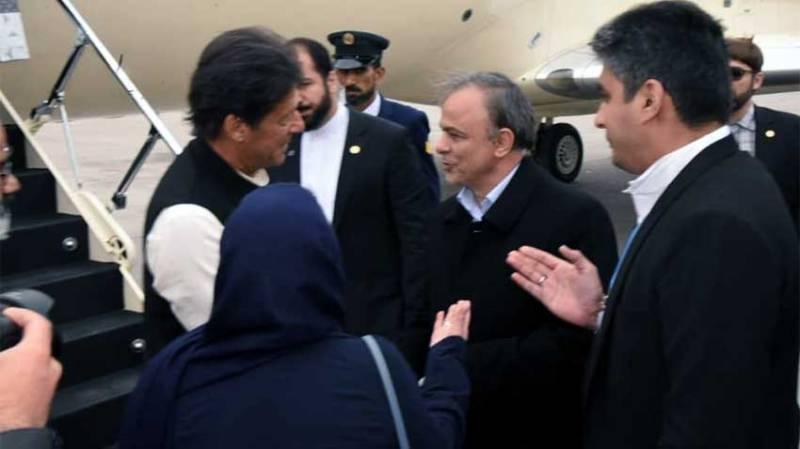 PM Imran Khan reaches Iran on first visit