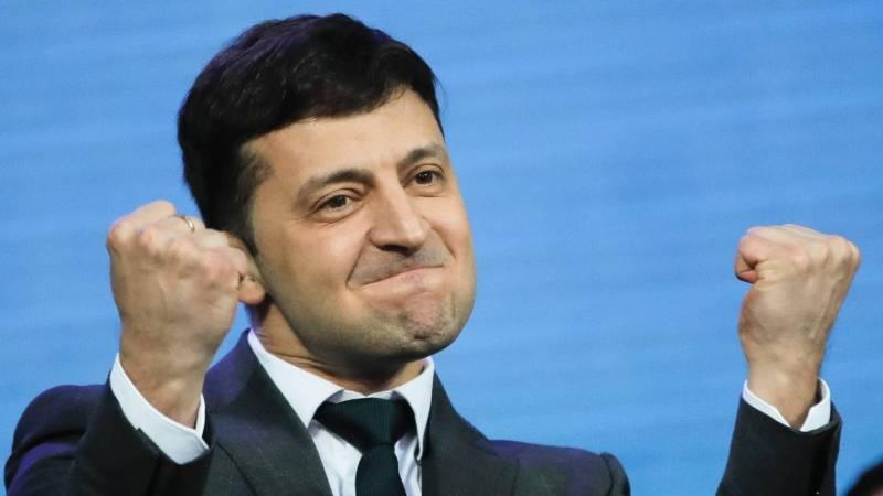 Comedian Zelensky wins Ukraine's presidency