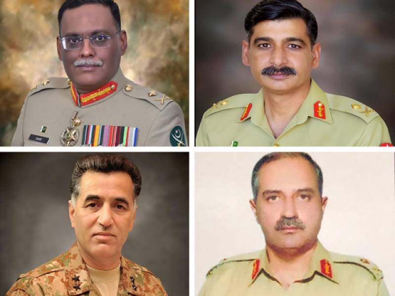 Pakistan Army announces high-level postings, transfers