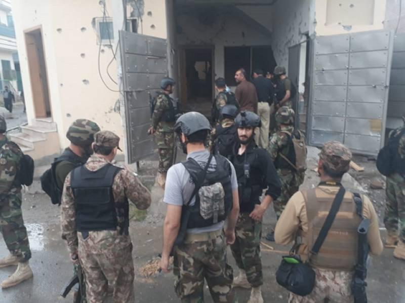 Terrorists killed in Hayatabad operating network, planning more subversive activities: Police