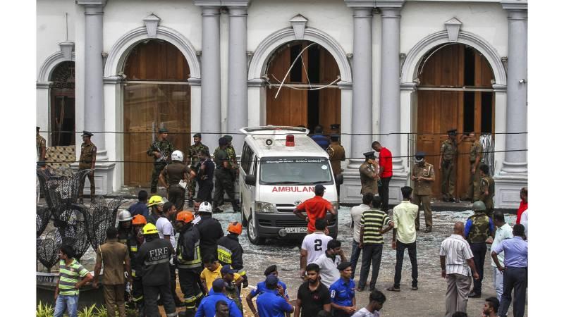Toll in Sri Lanka blasts rises to 321