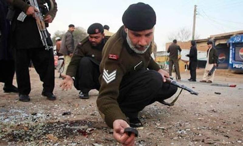 Two security men among 10 injured in Nasirabad blast