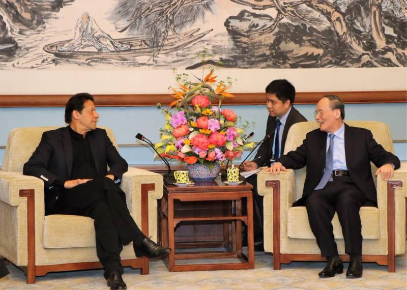Chinese VP hosts banquet for PM Imran-led Pakistani delegation