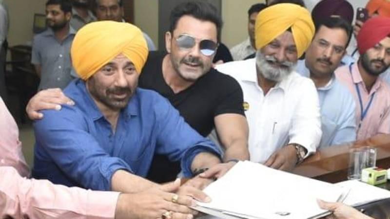 Sunny Deol files nomination for Gurdaspur Lok Sabha seat