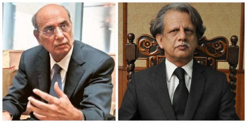 Justice Azmat Saeed recuses himself to hear Mian Mansha case