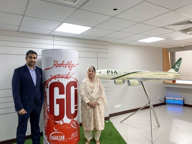 Rooh Afza's first carbonated drink rolled out ahead of Ramazan