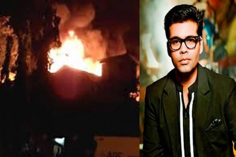 Massive fire erupts at Karan Johar's production house