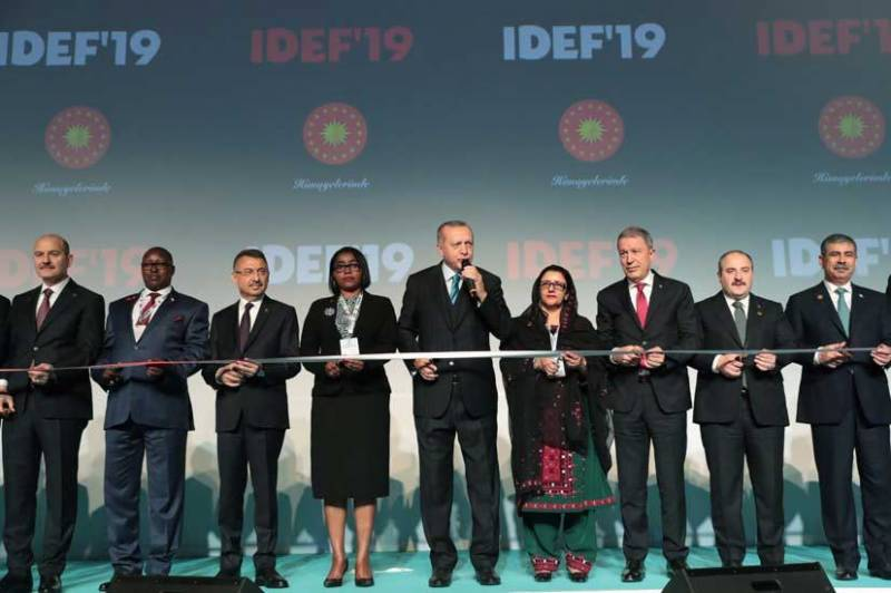 Zubaida Jalal represents Pakistan at Defence Industry Fair in Istanbul