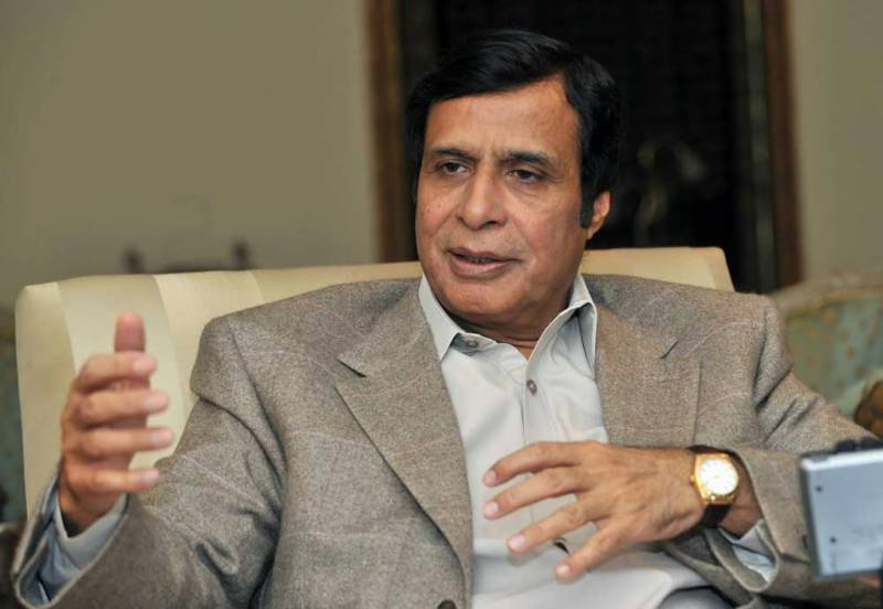 'Out of question': Pervez Elahi on meeting Shehbaz Sharif in London