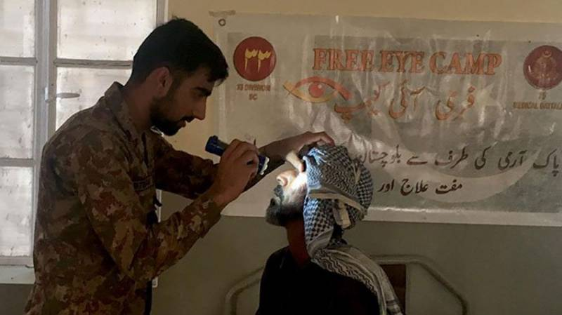 Pakistan Army establishes free medical camps in far flung areas of Balochistan