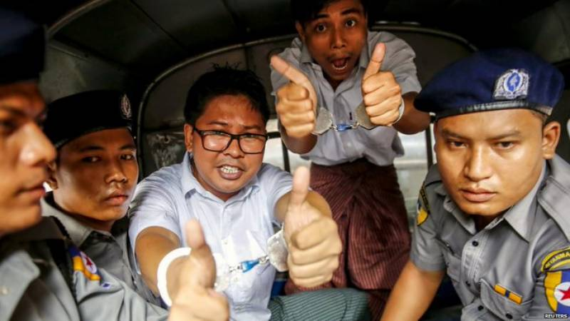Myanmar frees two Reuters journalists after global outrage