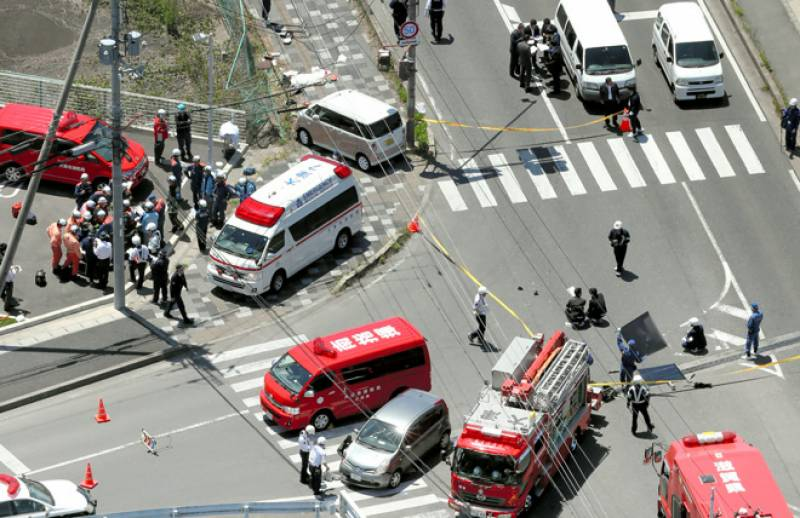 Two children killed after car rams into group of preschool students In West of Japan