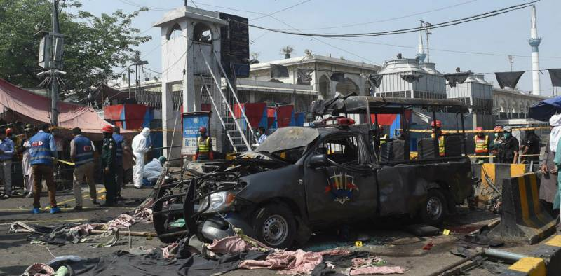Death toll in Data Darbar suicide attack reaches 13