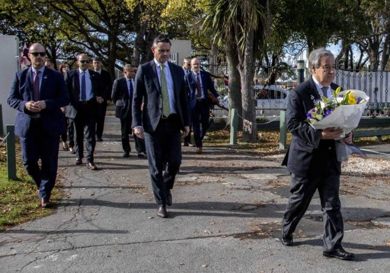UN chief calls for solidarity to extinguish 'wildfire' of hate speech during visits to NZ mosques