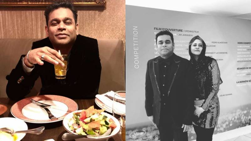 AR Rahman breaks fast at Cannes 2019