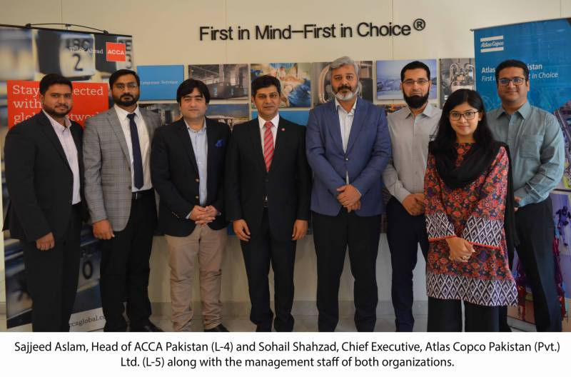 ACCA, Atlas Copco join hands to promote sustainable business practices in Pakistan