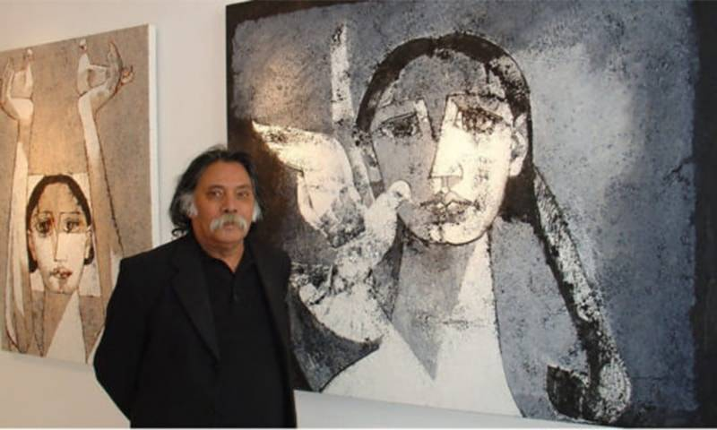 Legendary Pakistani painter Jamil Naqsh passes away