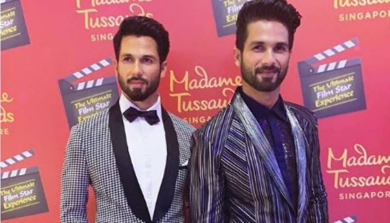 Shahid Kapoor becomes the latest Bollywood actor to get wax statue at Madame Tussauds