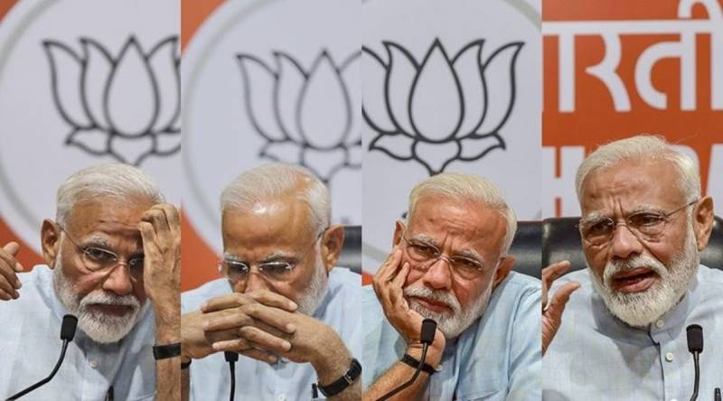 Modi takes no questions at first 'press conference' as India's PM
