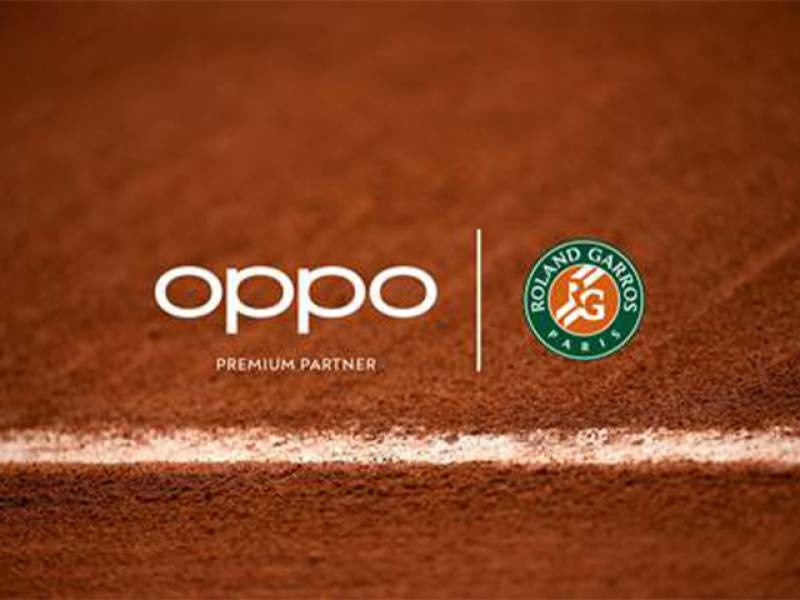 OPPO becomes premium partner of Roland-Garros, Rolex Paris Masters