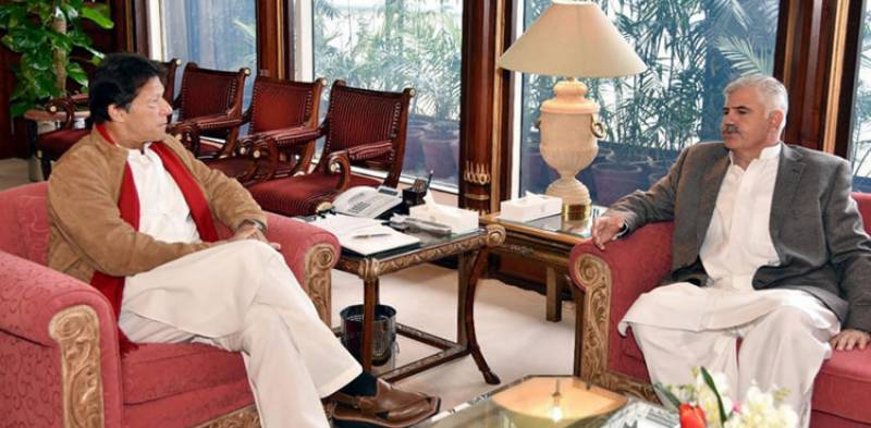 PM Imran to inspect KP govt's performance in Peshawar visit today