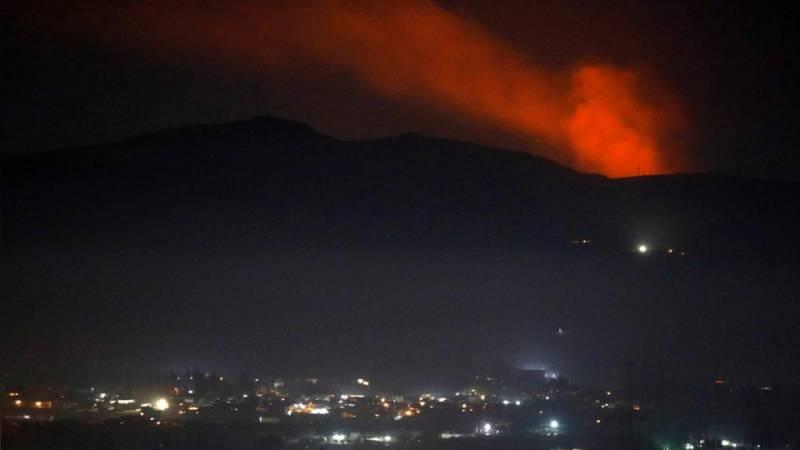 Syrian Air Defenses intercept Israeli projectiles: state media