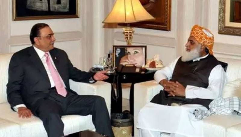 Zardari, Fazl meet to discuss opposition's joint strategy against government