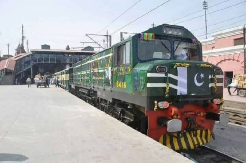 Railways operates 12 freight trains daily from Karachi port