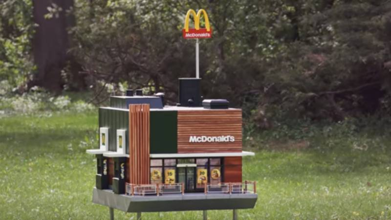 McDonalds has created a new branch for BEES