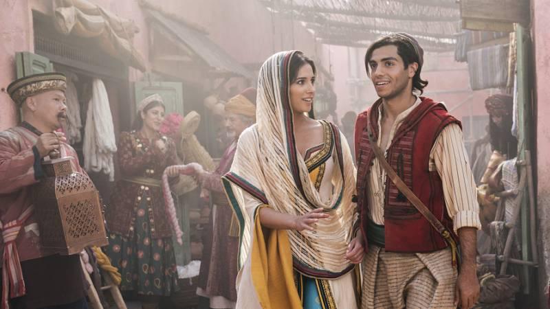 Aladdin dominates international box office $121 million