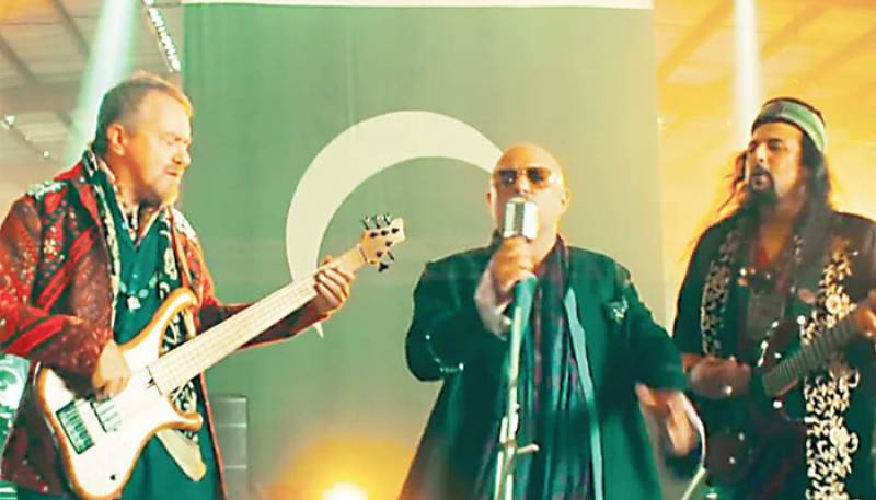 Junoon's World Cup anthem has a lot of heart and definitely brings out all the right emotions