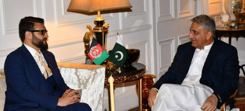 Afghan NSA calls on Pakistan's army chief to discuss peace process