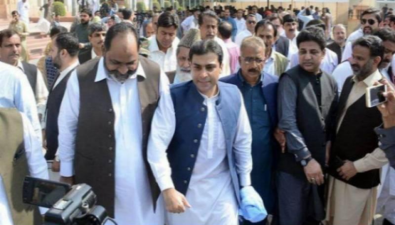LHC forms new bench to hear Hamza Shehbaz's bail plea