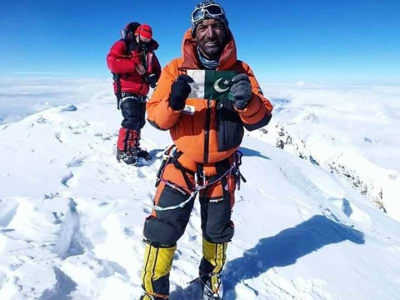 Sadpara becomes the only Pakistani mountaineer to scale world's 7 highest peaks