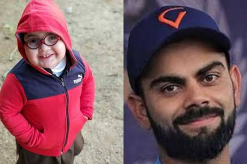 Virat Kohli becomes fan of cute Pakistani kid Ahmad Shah