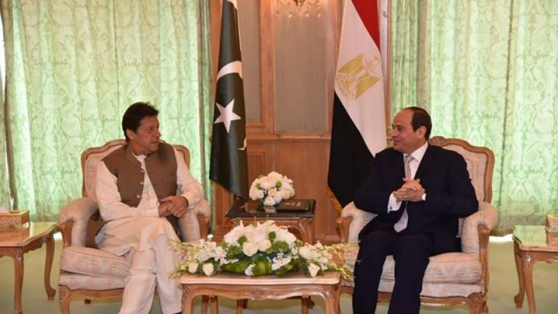 PM Imran, Egypt's President Sisi agree to comprehensively upgrade cooperation