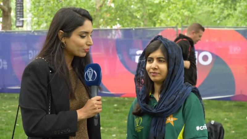 World Cup 2019 Opening Ceremony: Malala represents Pakistan in 60-second challenge