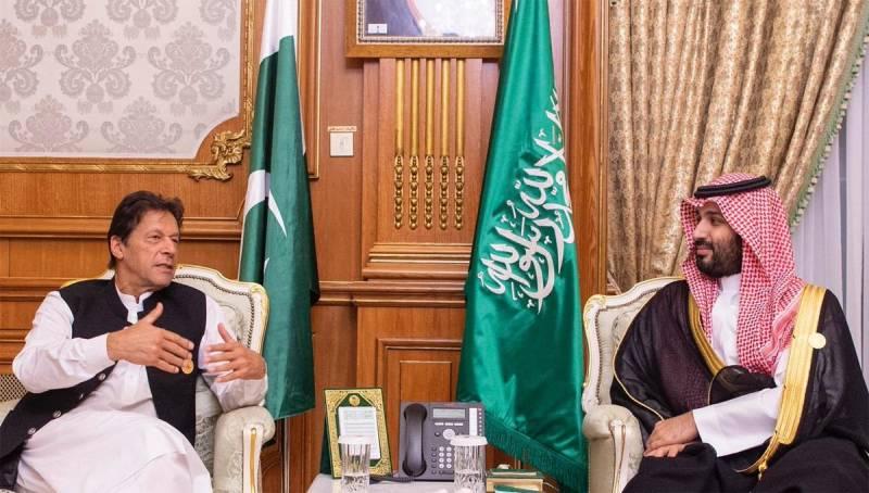 PM Imran, Saudi Crown Prince discuss matters of mutual interests