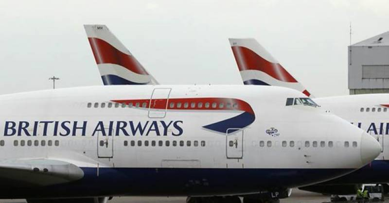 First flight of British Airways lands in Pakistan after 11 years