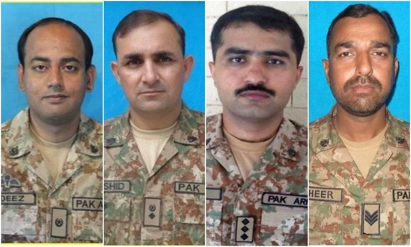 Lt Col, Major among 4 martyred in North Waziristan blast