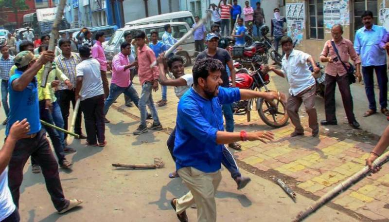 Trinamool-BJP clash kills three in in Bengal, India