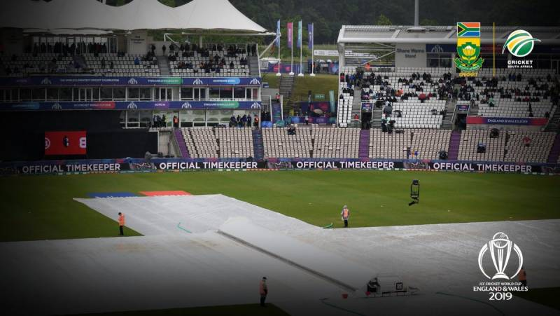 World Cup 2019: SA, WI share a point each after Match 15 abandoned due to rain
