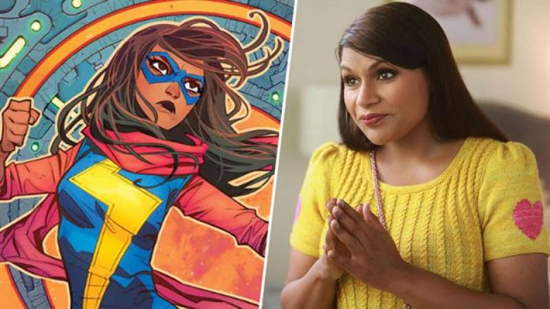 Marvel 'interested' in developing Pakistani-American superhero movie, says Mindy Kaling