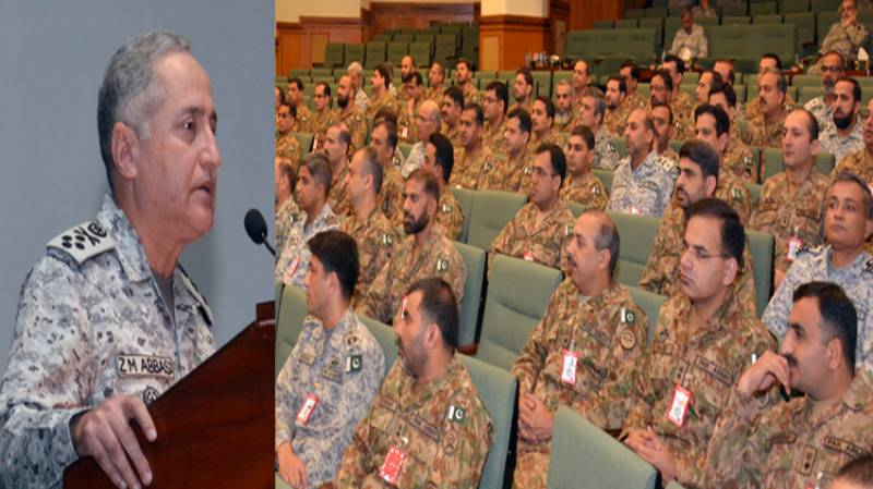 Pak Navy ready to cope with maritime security challenges, says Naval Chief