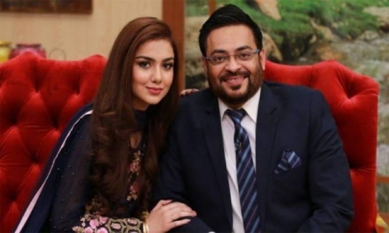 Aamir Liaquat's daughter and his new wife just can't stop throwing shade at one another